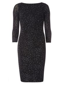 Dorothy Perkins Billie Black Label Jacquard Bodycon Dress