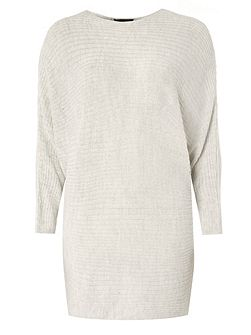 Slouchy Ribbed Jumper