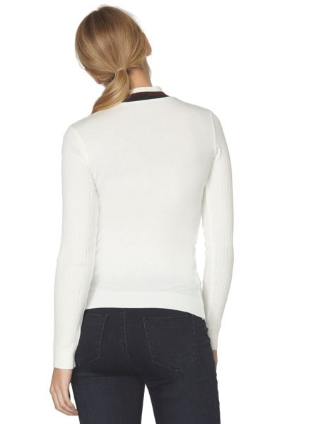 Dorothy Perkins Tipped High Neck Jumper