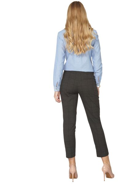 Dorothy Perkins Window Check Ankle Grazer Trousers