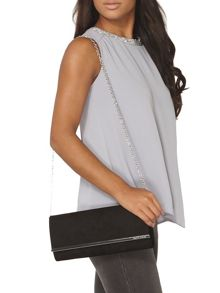 Dorothy Perkins Large Structured Clutch Bag