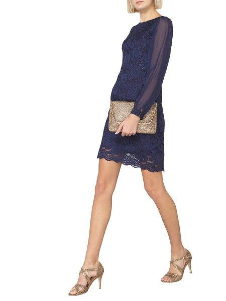 Dorothy Perkins Billie and Blossom Lace Sequin Shift Dress