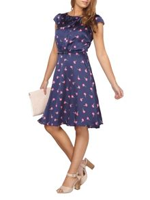 Dorothy Perkins Billie and Blossom Petite Tulip Print Dress