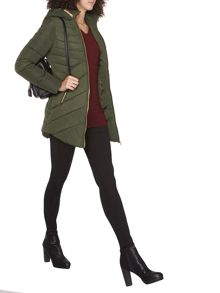 Dorothy Perkins Tall Chevron Padded Coat