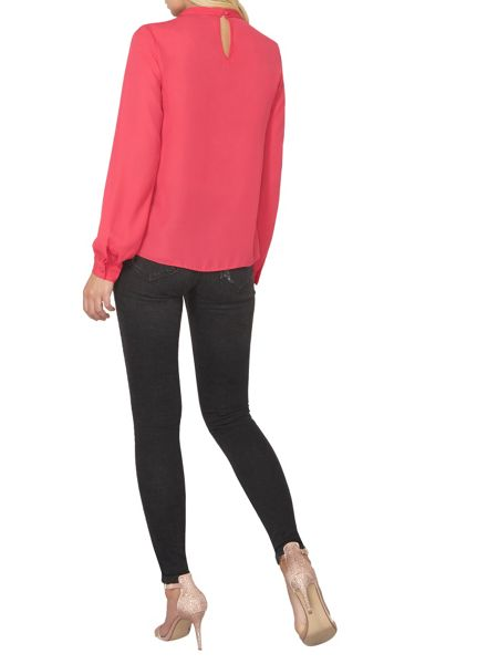 Dorothy Perkins Pleated Neck Top