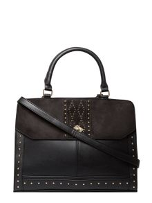 Dorothy Perkins Stud Flap Tote Bag