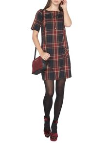 Dorothy Perkins Tall Checked Shift Dress
