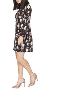 Dorothy Perkins Petite Floral Jersey Dress