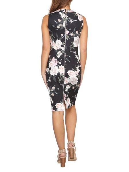 Dorothy Perkins Petite Floral Tube Dress