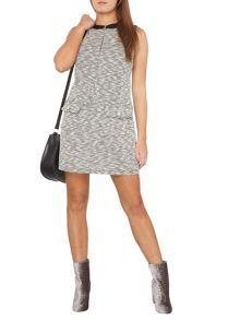 Dorothy Perkins Petite Salt and Pepper Tunic