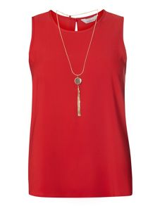 Dorothy Perkins Petite Necklace Shell Top