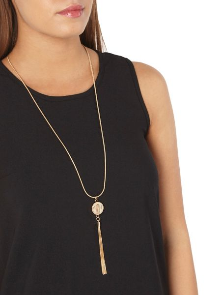 Dorothy Perkins Petite Necklace Trim Top