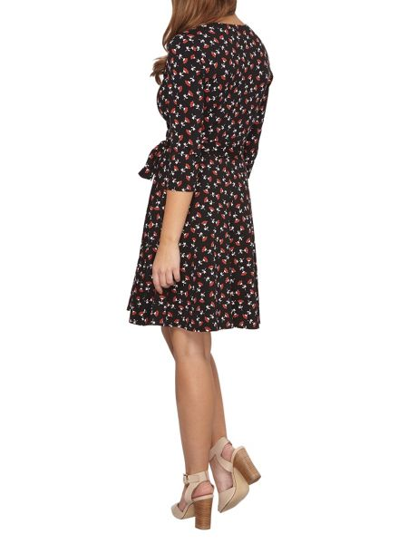 Dorothy Perkins Petite Printed Wrap Dress