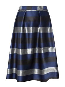 Dorothy Perkins Striped Full Skirt