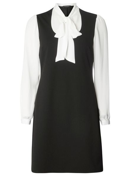 Dorothy Perkins Pussybow 2in1 Dress