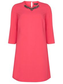 Dorothy Perkins Embellished Shift Dress
