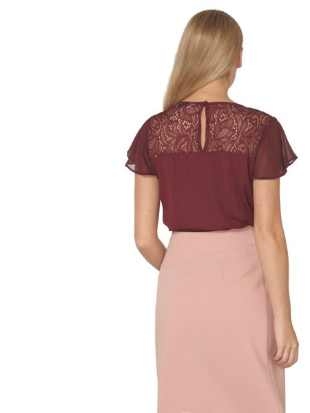 Dorothy Perkins Billie and Blossom Lace Insert Top