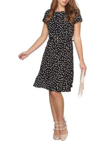 Dorothy Perkins Petite Billie & Blossom Spot Dress