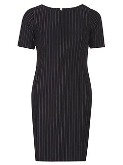 Petite Stripe Shift Dress