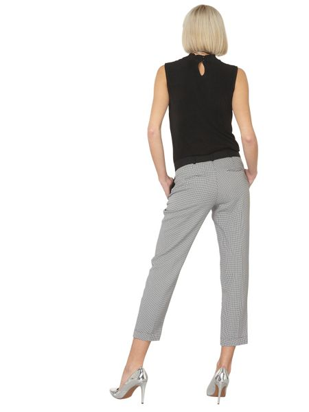 Dorothy Perkins Dogtooth Ankle Grazer Trousers