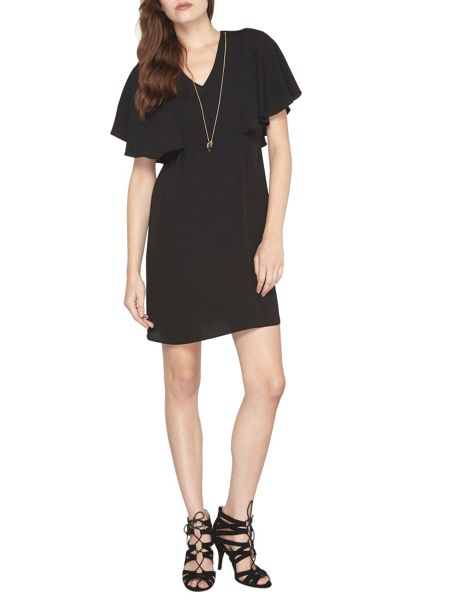 Dorothy Perkins Cape Sleeve Shift Dress