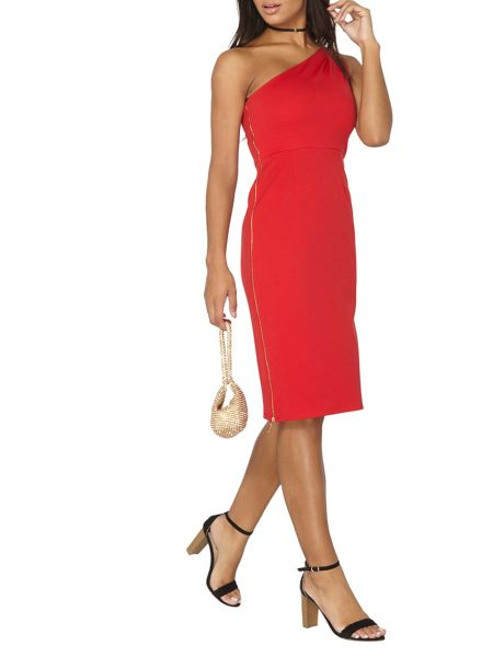 Dorothy Perkins One Shoulder Pencil Dress