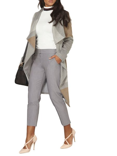 Dorothy Perkins Side Tab Ankle Grazer Trousers