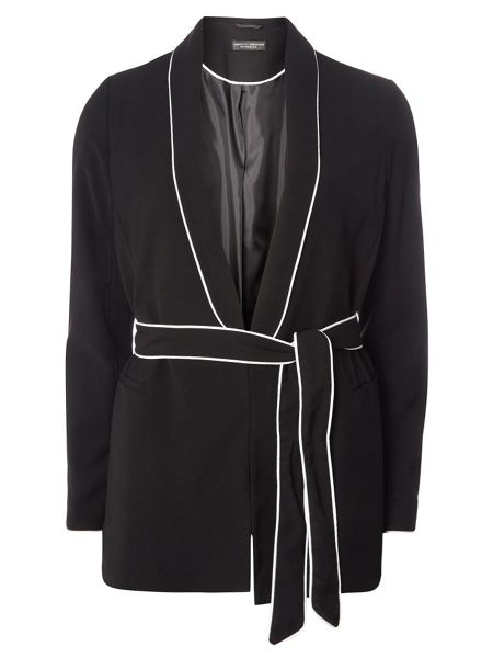 Dorothy Perkins Piped Wrap Jacket