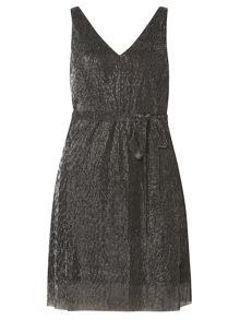 Dorothy Perkins Petite Plisse Dress