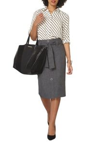 Dorothy Perkins Cross Hatch Skirt