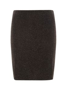 Dorothy Perkins Tall Lurex Mini Skirt