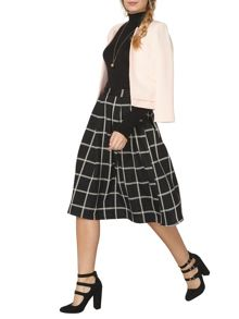 Dorothy Perkins Check Full Skirt