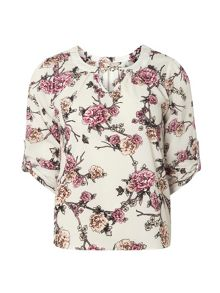 Dorothy Perkins Billie And Blossom Petite Floral Blouse