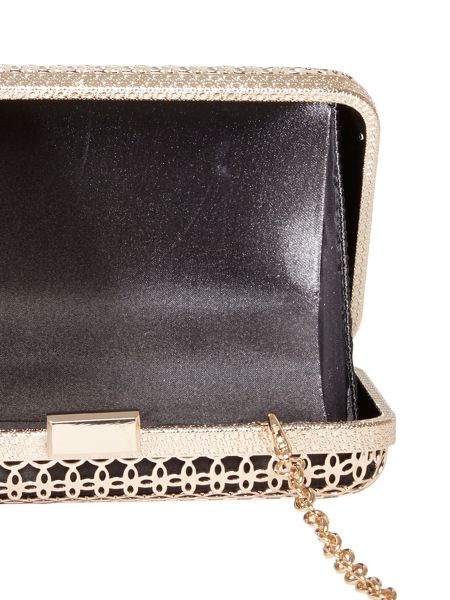 Dorothy Perkins Caged Clutch Bag