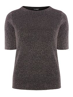 Knitted Sparkle T-Shirt