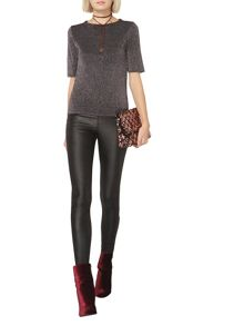 Dorothy Perkins Knitted Sparkle T-Shirt