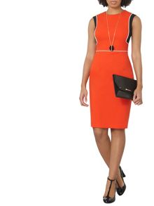 Dorothy Perkins Piped Block Dress