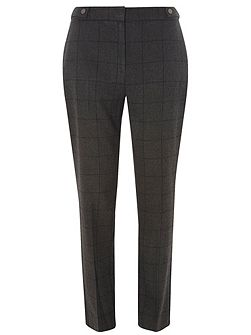 Tall Checked Ankle Grazer Trousers