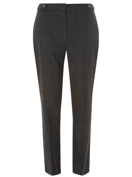 Dorothy Perkins Tall Checked Ankle Grazer Trousers