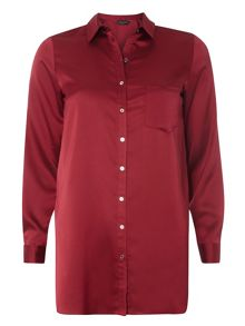 Dorothy Perkins Satin Shirt