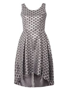 Dorothy Perkins Luxe Spot Jacquard Dress