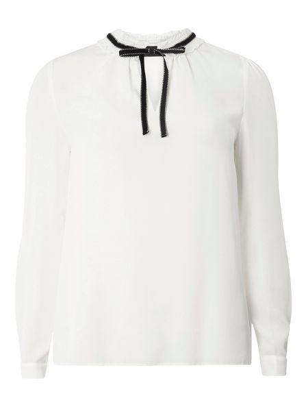 Dorothy Perkins Ruffle Long Sleeve Top
