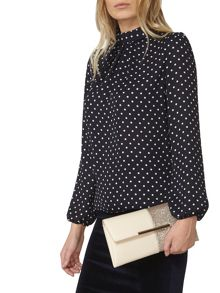 Dorothy Perkins Half and Half Clutch