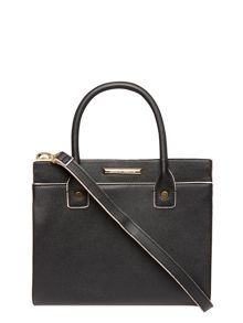 Dorothy Perkins Black Mini Slip Pocket Tote