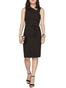 Dorothy Perkins Petite Belted Pencil Dress