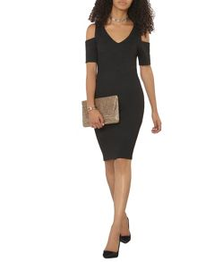 Dorothy Perkins Cold Shoulder Pencil Dress