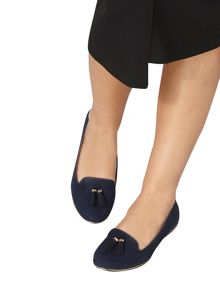 Dorothy Perkins Wide Fit `Heston` Tassel Loafer