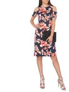 Dorothy Perkins Petite Floral Pencil Dress