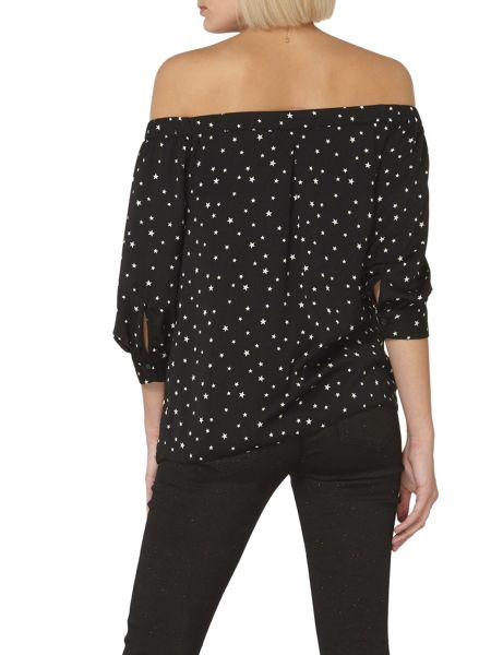 Dorothy Perkins Star Bardot Top