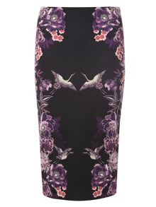 Dorothy Perkins Printed Stretchy Skirt